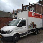 Onze nieuwe vrachtwagen